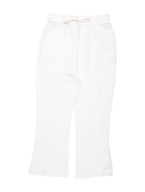 Stone Cold Fox Printed Skinny Leg Pants White