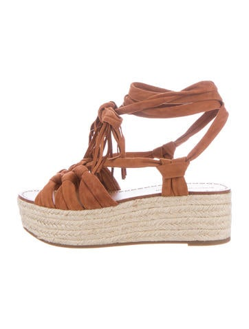 Sigerson Morrison Cosie Wedge Sandals w/ Tags None