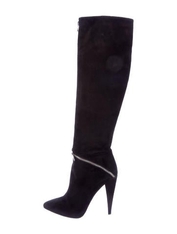 Sigerson Morrison Suede Over-The-Knee Boots