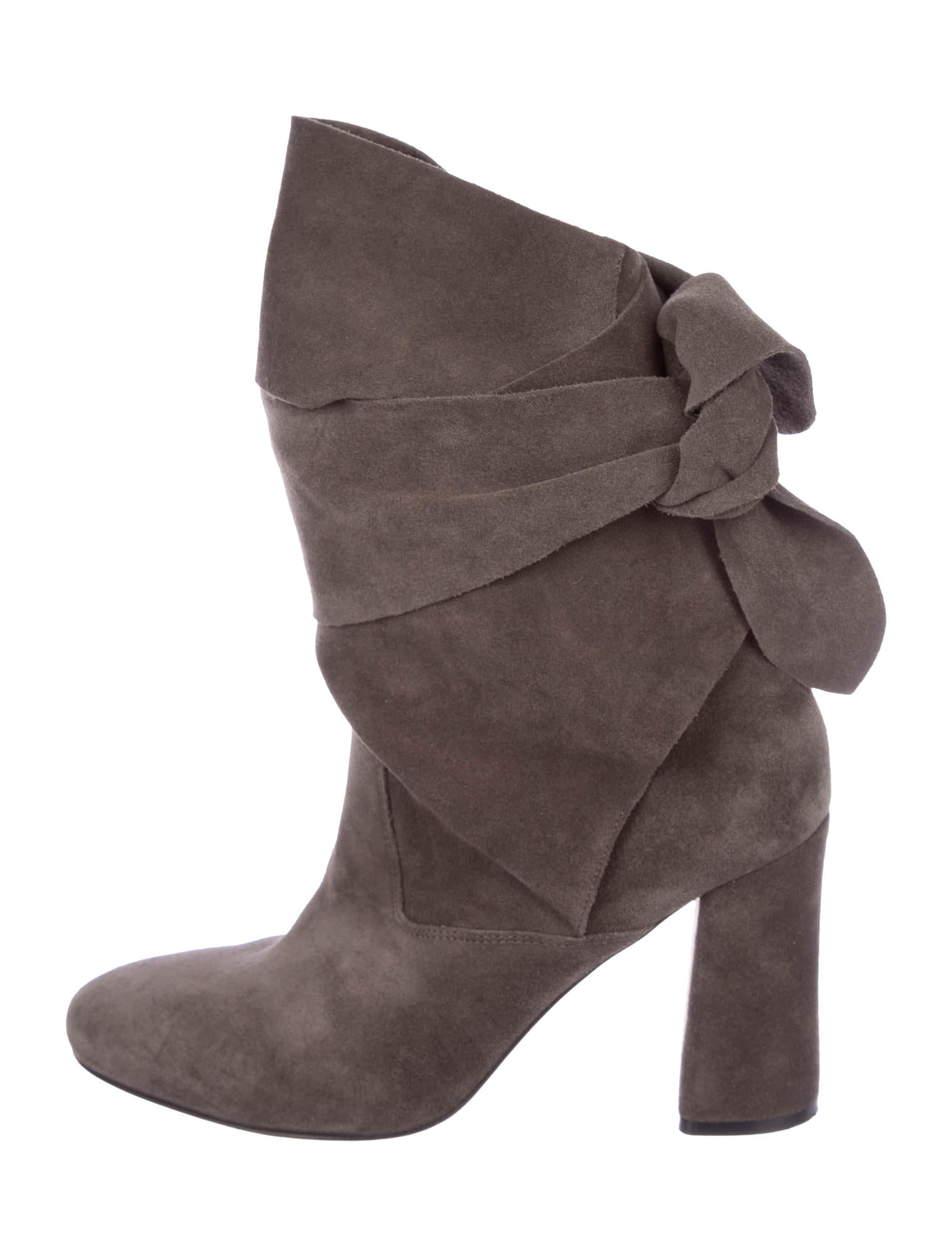 outlet discounts free shipping the cheapest Sigerson Morrison Lori Wrap-Around Ankle Boots visit cheap online discount big discount genuine for sale 3Yx0PW