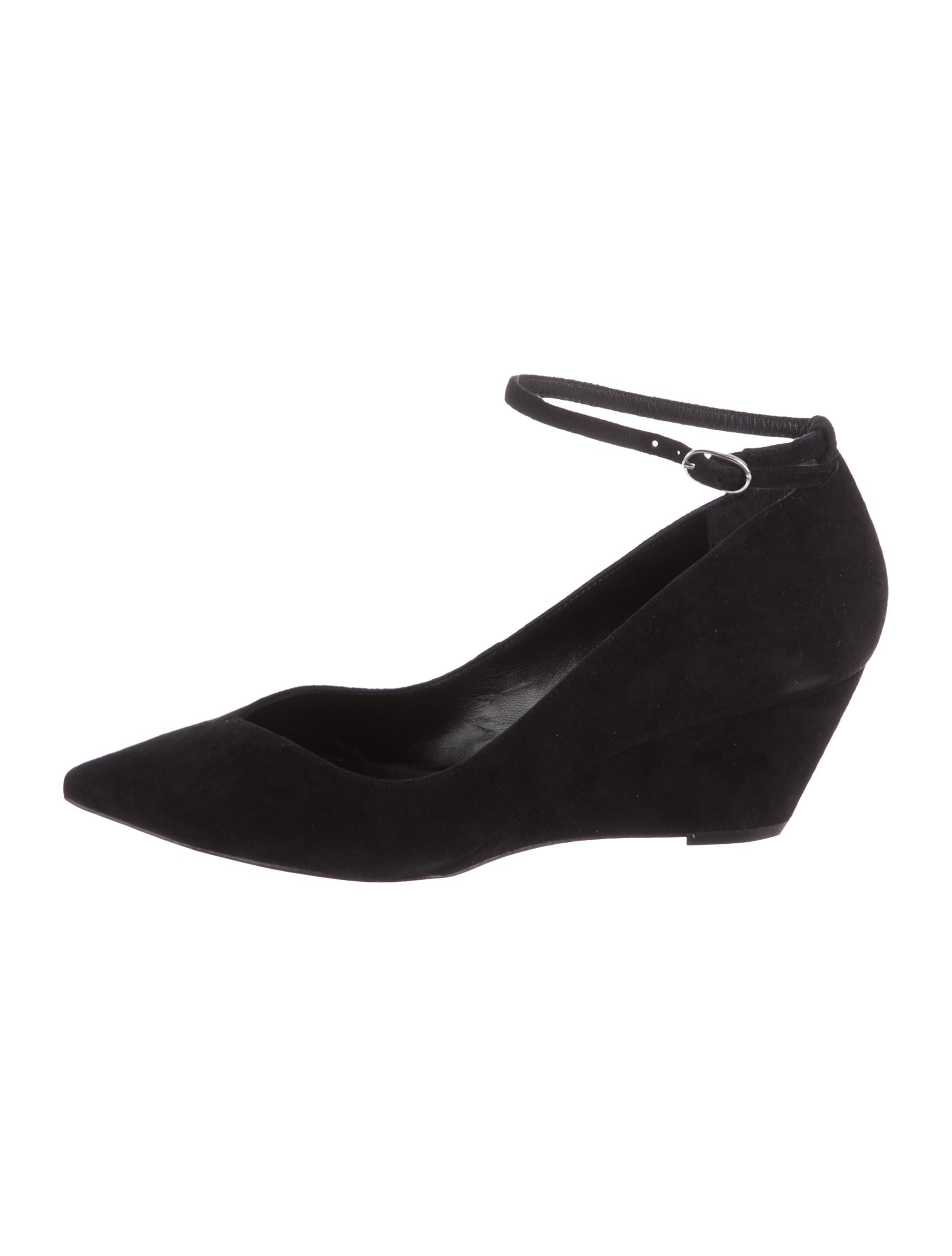 Sigerson Morrison Witty Suede Wedges w/ Tags sale visa payment buy cheap marketable cheap sale wide range of fashion Style cheap online INJ6kcAXo4