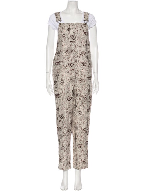 SIR The Label Linen Printed Jumpsuit