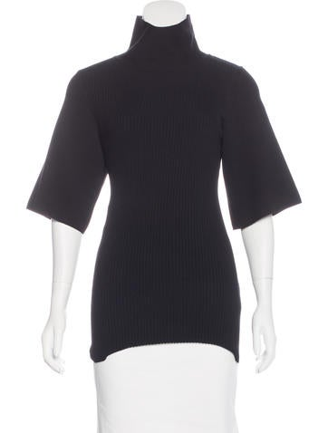Dorothee Schumacher Wool Three-Quarter Sleeve Top None