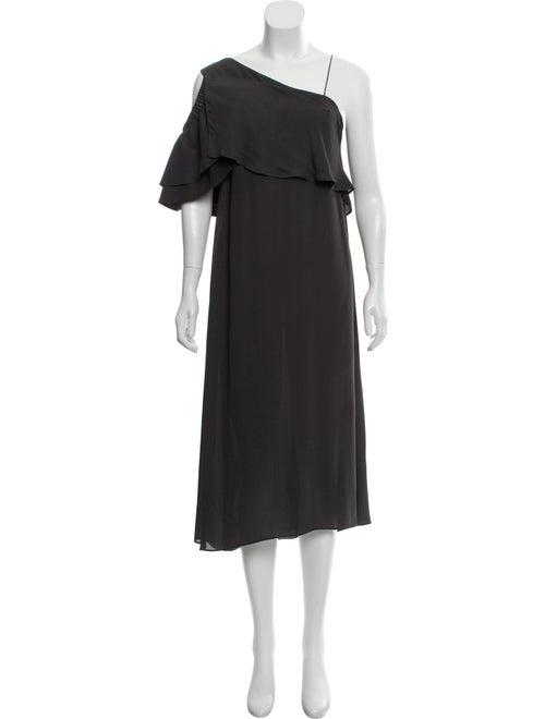 Dorothee Schumacher Asymmetrical Midi Dress