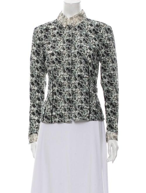 Dorothee Schumacher Silk Floral Print Button-Up To