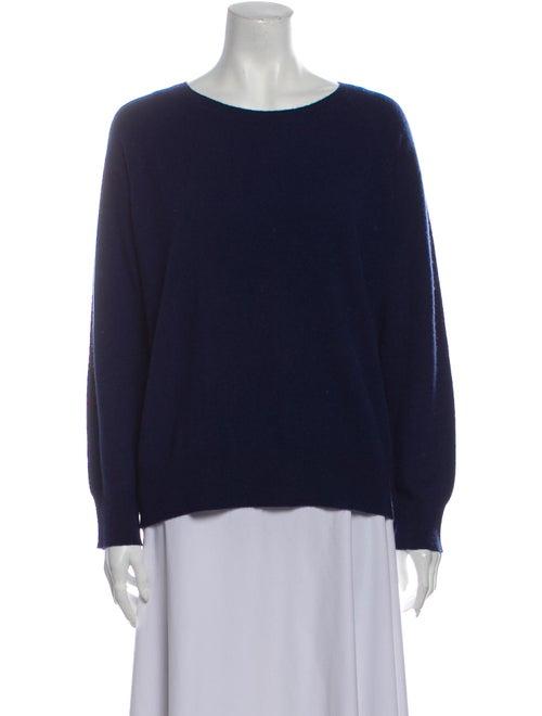 Skull Cashmere Cashmere Scoop Neck Sweater Blue
