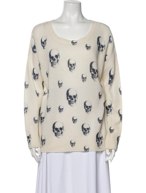 Skull Cashmere Cashmere Printed Sweater