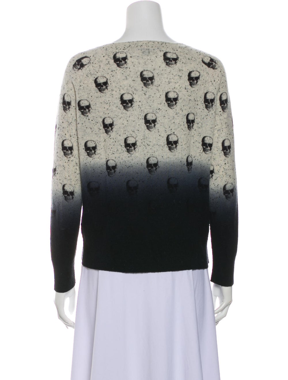 Skull Cashmere Cashmere Printed Sweater - image 3