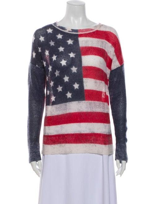 Skull Cashmere Cashmere Striped Sweater - image 1