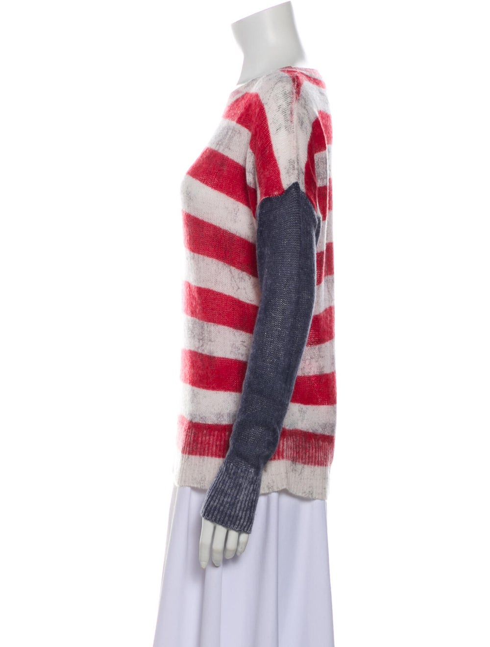 Skull Cashmere Cashmere Striped Sweater - image 2