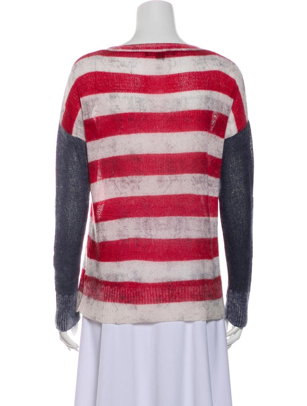 Skull Cashmere Cashmere Striped Sweater - image 3