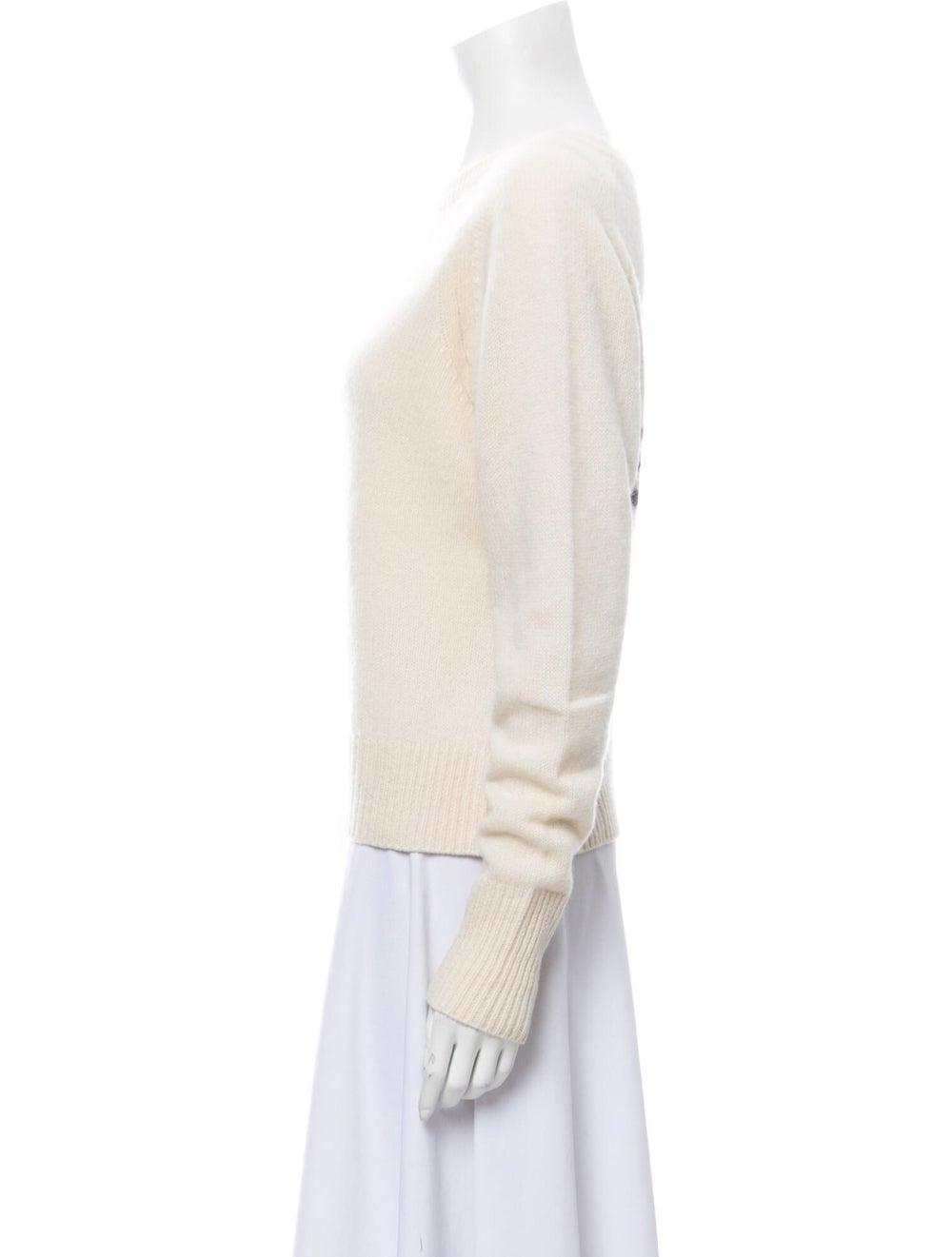 Skull Cashmere Cashmere Scoop Neck Sweater - image 2