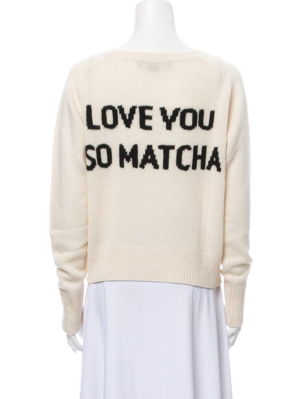 Skull Cashmere Cashmere Scoop Neck Sweater - image 3
