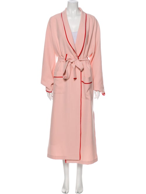 Sleeper Trench Coat Pink - image 1