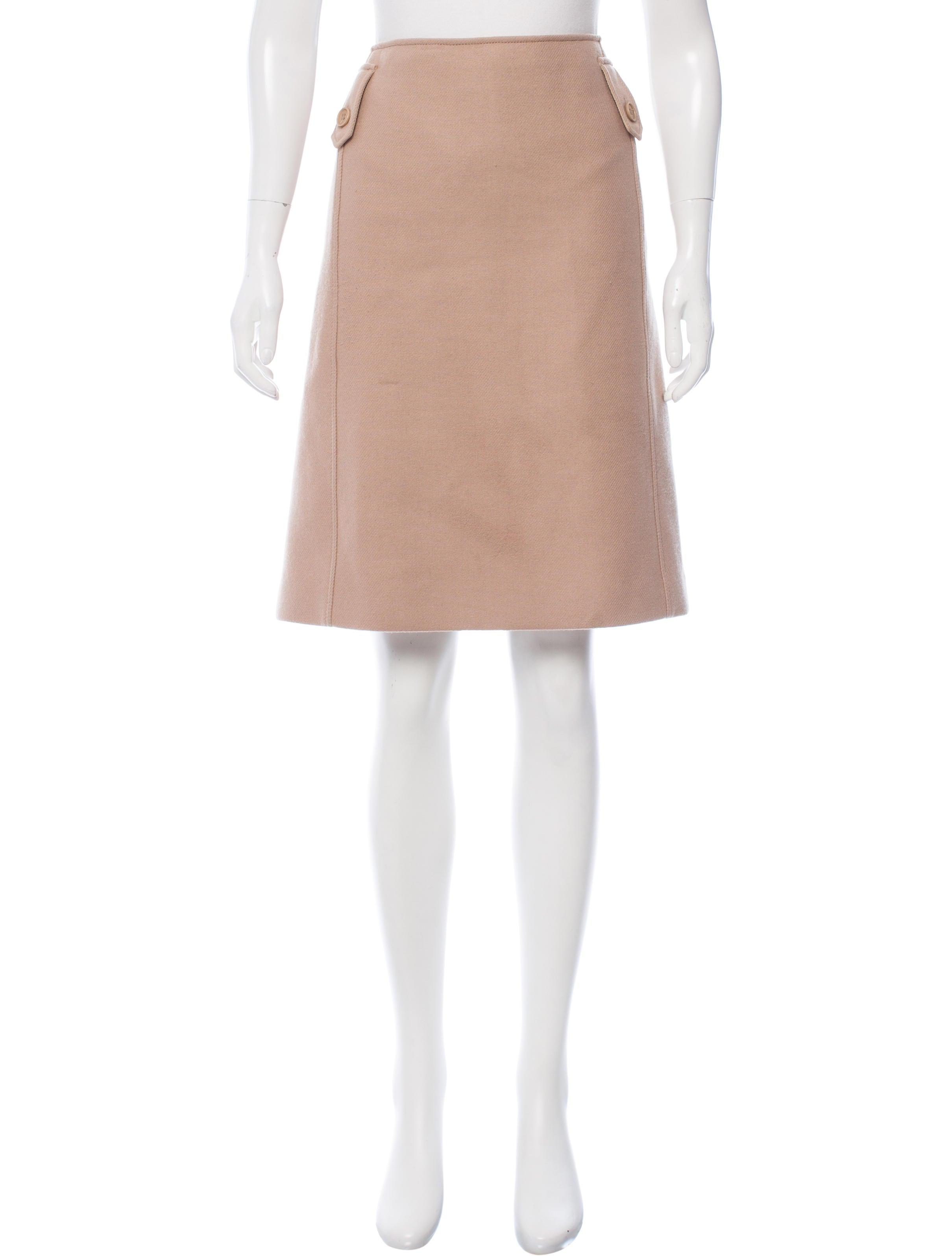 s maxmara wool knee length skirt clothing wsmax20171