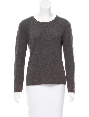 'S MaxMara Crew Neck Cashmere & Wool-Blend Sweater None
