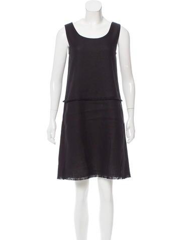'S MaxMara Sleeveless Shift Dress w/ Tags None