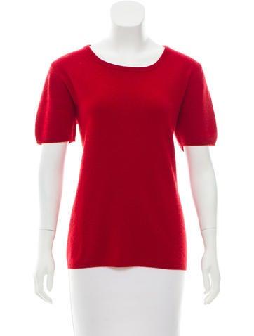 'S MaxMara Cashmere Scoop Neck Sweater None