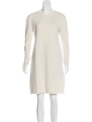 'S MaxMara Long Sleeve Knit Dress None