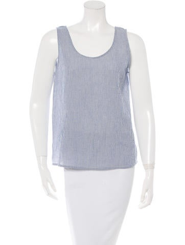 Samuji Striped Sleeveless Top w/ Tags
