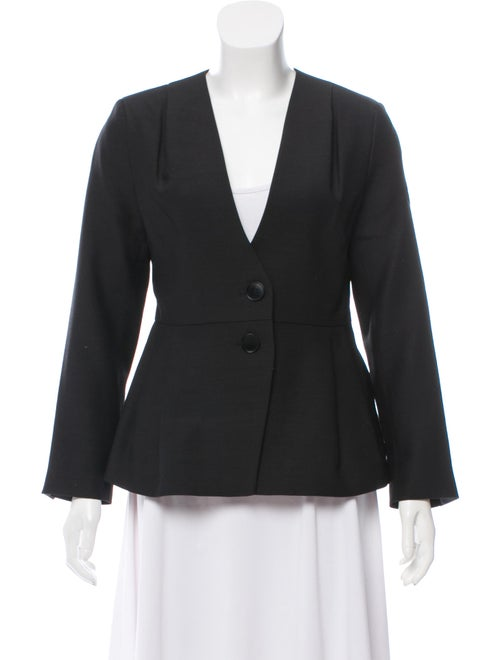 Samuji Amilia Virgin Wool Blazer w/ Tags Black
