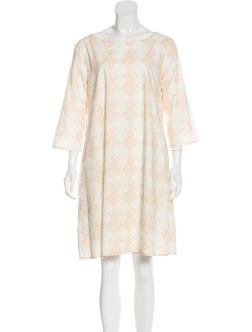 Samuji Long Sleeve Mini Dress pink