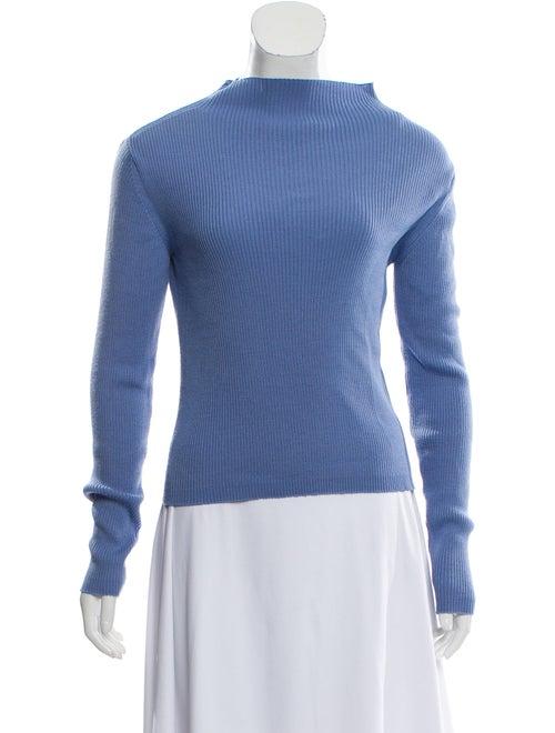 Samuji Wool Knit Sweater Blue