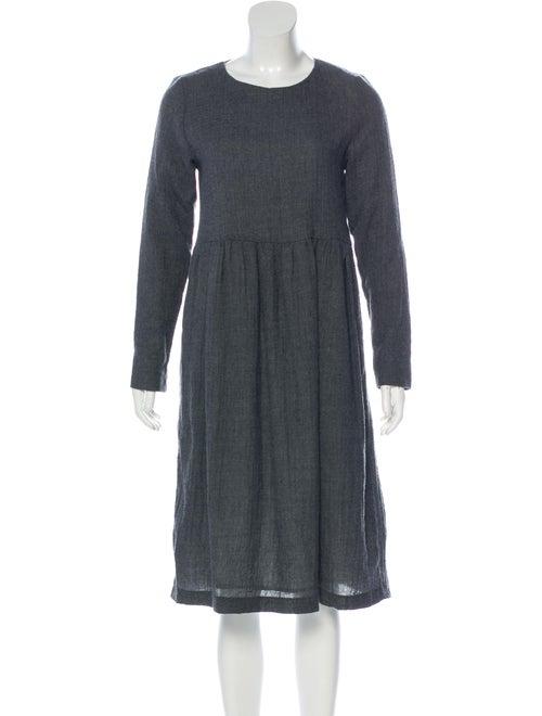 Samuji Wool Knee-Length Dress Wool