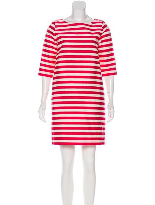 Samuji Striped Mini Dress White