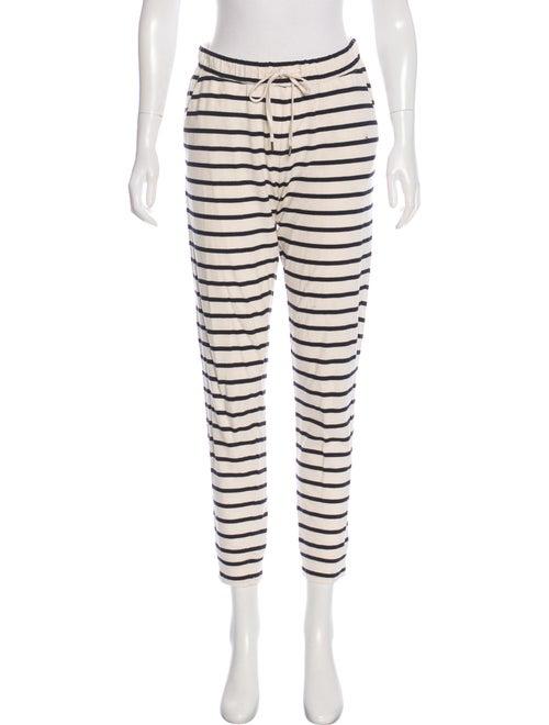 Samuji Striped Skinny Leg Pants