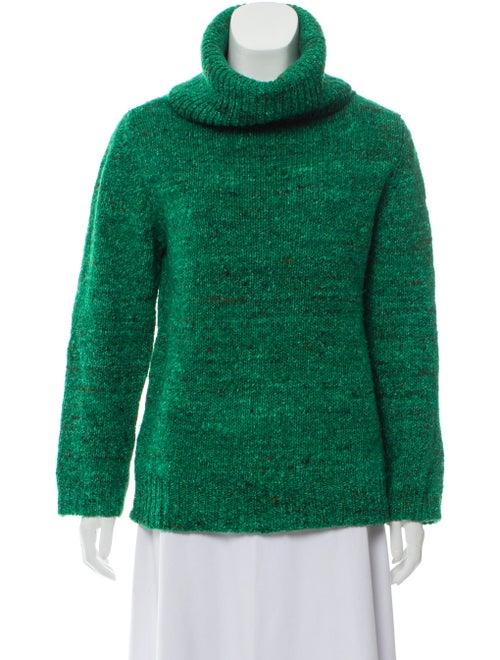 Samuji Wool Turtleneck Sweater Wool