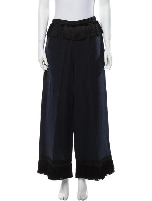 Samuji Wide Leg Pants Blue