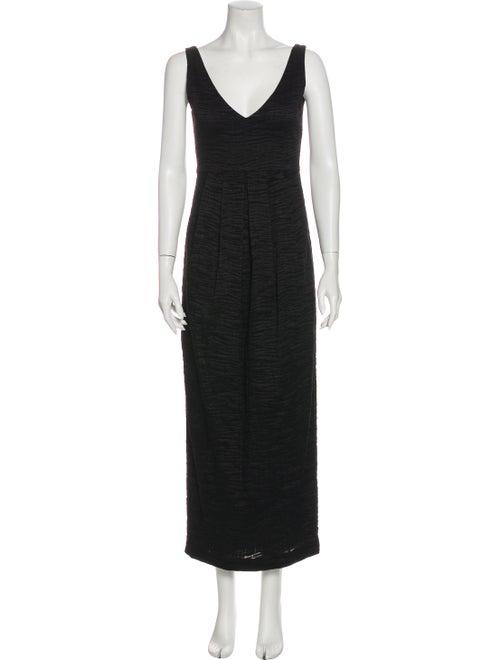 Samuji 2016 Long Dress w/ Tags Black