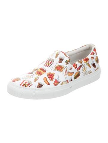 Fast Food Slip-On Sneakers