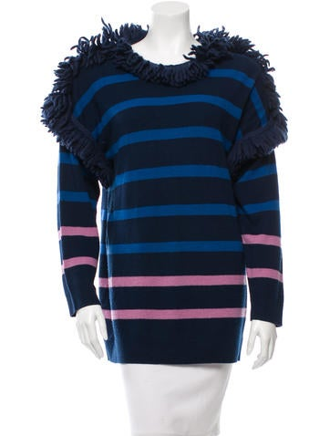 Sonia by Sonia Rykiel Wool Striped sweater None