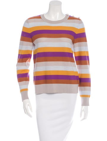 Sonia by Sonia Rykiel Wool Striped Sweater None