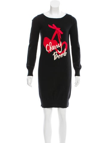 Sonia by Sonia Rykiel Mini Sweater Dress None