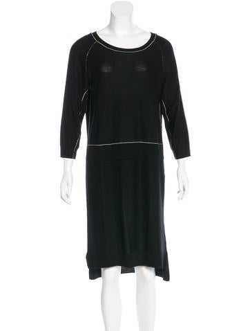 Sonia by Sonia Rykiel Wool Midi Dress w/ Tags