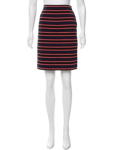 Sonia by Sonia Rykiel Striped Bodycon Skirt None
