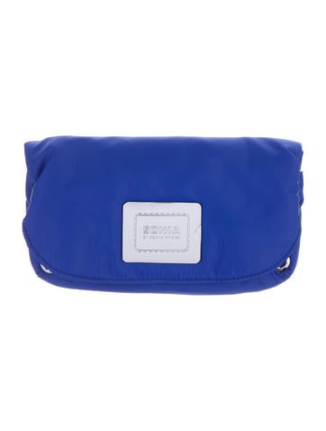 Logo-Accented Cosmetic Bag