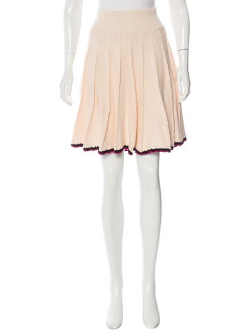 Sonia by Sonia Rykiel Knit A-Line Skirt None