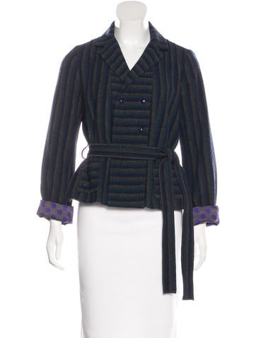 Sonia by Sonia Rykiel Wool Double-Breasted Coat None