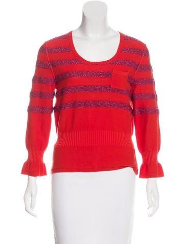 Sonia by Sonia Rykiel Striped Knit Sweater None