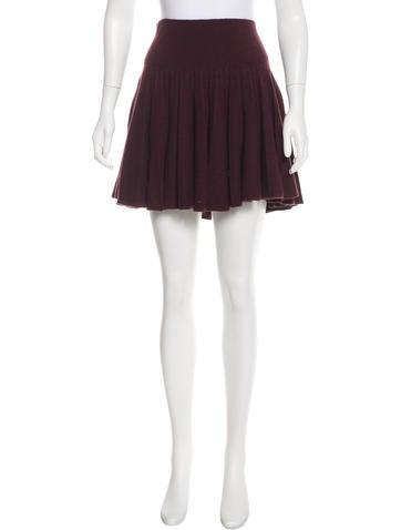 Sonia by Sonia Rykiel Wool Knee-Length Skirt None