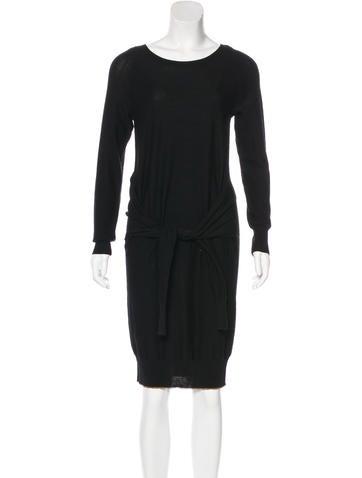 Sonia by Sonia Rykiel Long Sleeve Sweater Dress None