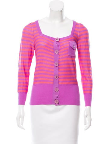 Sonia by Sonia Rykiel Silk Knit Cardigan None