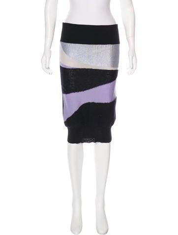 Sonia by Sonia Rykiel Wool Knit Skirt w/ Tags None