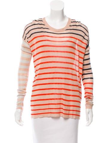 Sonia by Sonia Rykiel Knit Striped Top w/ Tags None