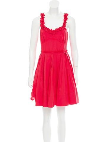 Sonia by Sonia Rykiel Sleeveless Mini Dress None