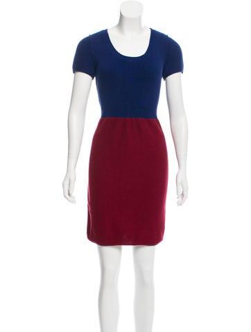 Sonia by Sonia Rykiel Mini Knit Dress None